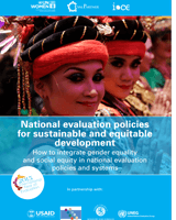 National evaluation policies for sustainable and equitable development